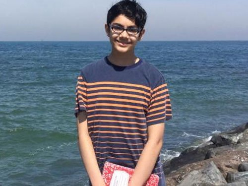 12-yr-old Indian-American genius eyes to become doctor at 18