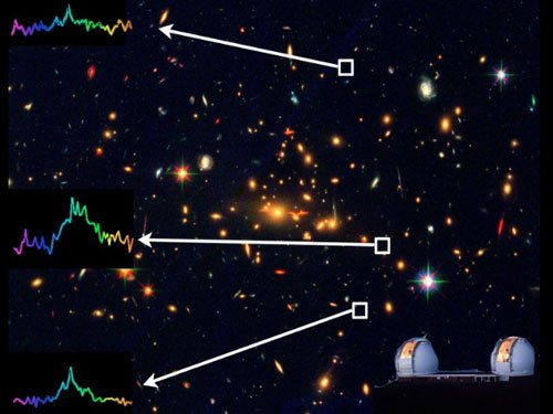 Faintest early-universe galaxy discovered