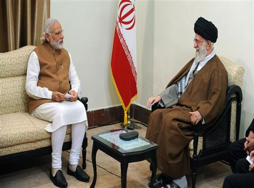 Prime Minister Modi meets Iranian Supreme Leader