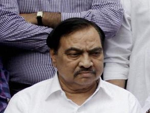 Allegation of illegal purchase of MIDC land against Khadse