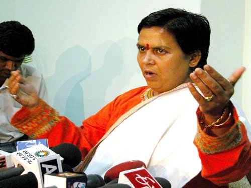Minister presents Yamuna plan to Uma Bharti