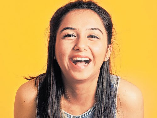 Her tryst with humour