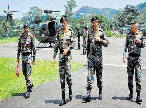 Army ready to crack down on NE militants