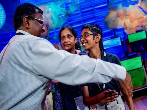 Indian-American students sweep National Geographic Bee contest