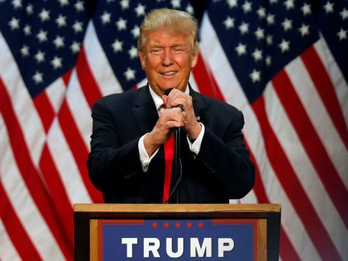 Trump wins the Republican nomination for president
