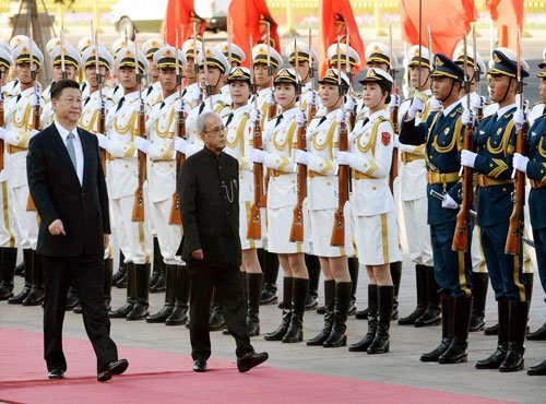 There are 'no good or bad terrorists': Mukherjee tells Xi