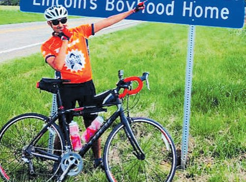 Youth to cycle across US for cancer awareness