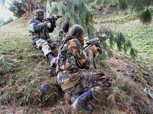 4 militants, jawan killed in anti-infiltration operation
