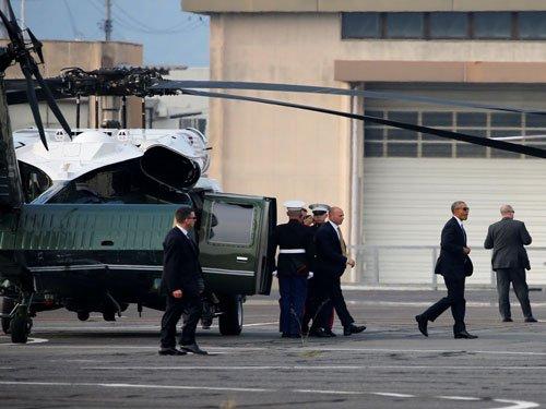 Obama becomes 1st US president to visit Hiroshima bomb site
