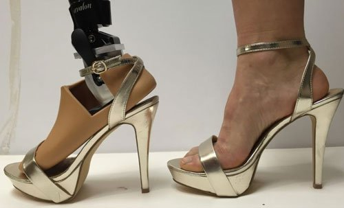 New prosthetic foot to help disabled women wear high heels