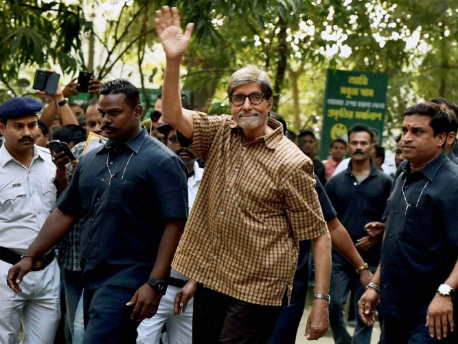 I am not a singer, it's frightening for me to sing: Big B