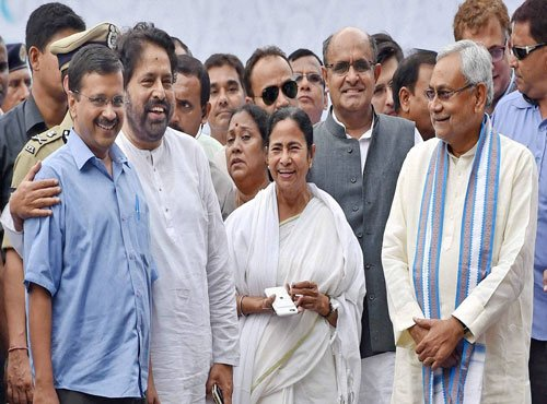 Mamata takes charge of Bengal for 2nd term