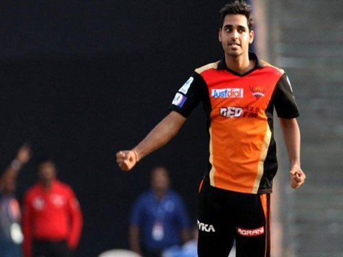 Getting marauding Virat, other RCB batsmen out is a task: Bhuvi