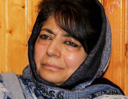 Committed to bringing back Kashmiri Pandits: Mehbooba