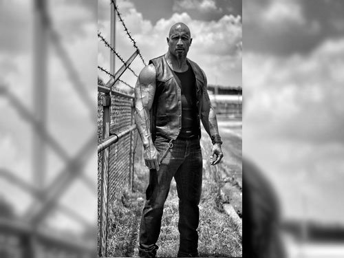 Dwayne Johnson shares first look of 'Fast 8' character