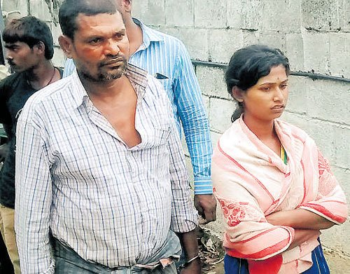 Husband, daughter held  for woman's murder