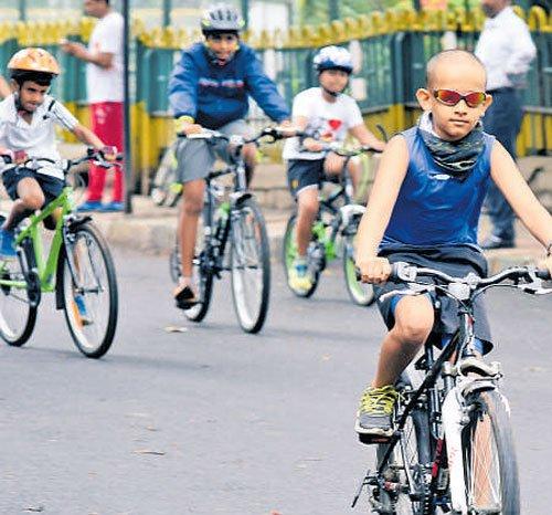 Open Street at Sadashivanagar gets overwhelming response