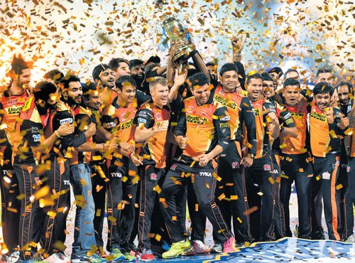 Sunrisers clinch IPL title