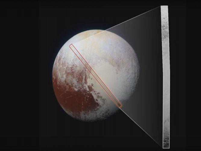 NASA probe beams best close-up images of Pluto