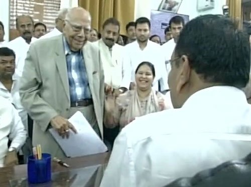 Grand Alliance candidates file nominations for RS polls