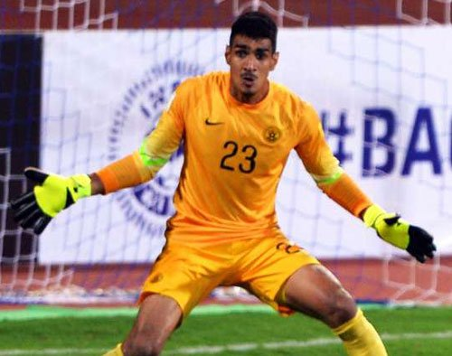 0c09205d3 Sandhu becomes first Indian to play in European top league The 24-year-old  Indian kept a clean sheet in his first Tippeligaen (Norwegian Premier  League) ...
