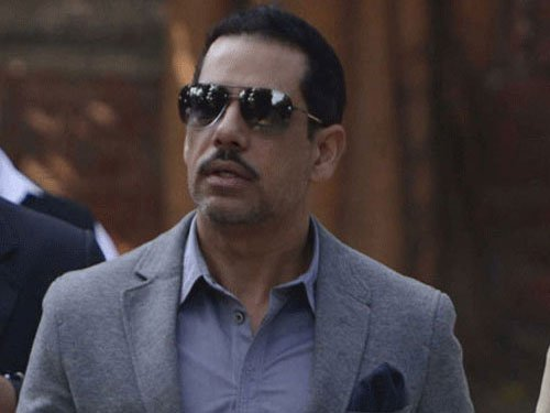 Centre looking into report on Vadra's 'benami' house in UK