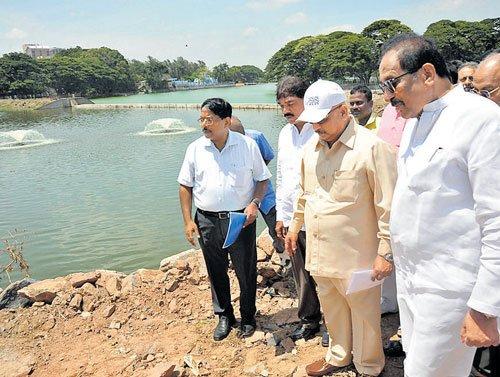 George tells officials to rejuvenate Ulsoor lake