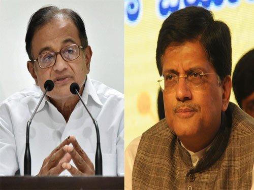 Goyal, Chidambaram, Prabhu, Yadav elected to Rajya Sabha