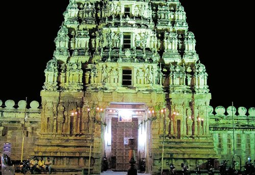 880 acres in city belong to temple  in Srirangapatna