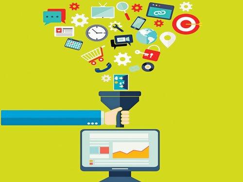 How ecommerce analyses data