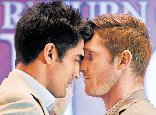 Vijender to fight Hope for Asia title on July 16
