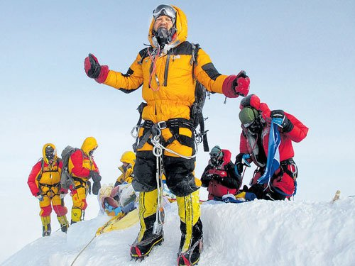 B'luru techie who scaled  peaks in 6 continents feted