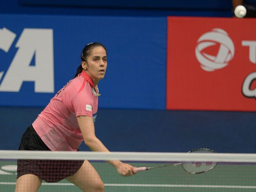 Saina enters round two; Sindhu bows out of Australian Open