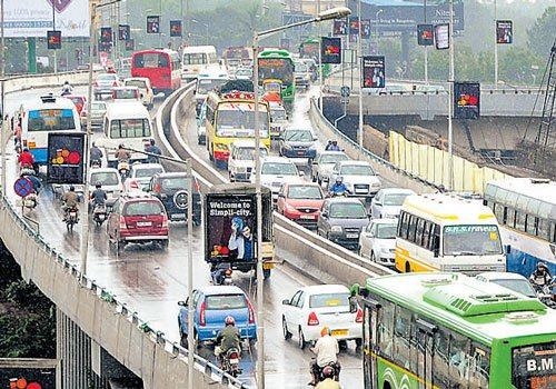 A steel flyover to chaos