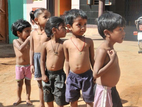 38.7 pc Indian children stunted, suggests global report