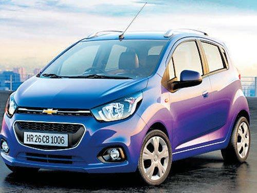 GM India eyes mkt blitz, plans  5 Chevy models