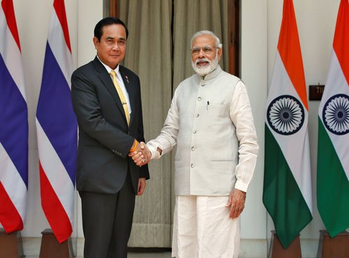 India, Thailand to forge close ties in defence, maritime
