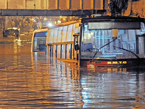 Waterlogging: A city-wide problem of plenty
