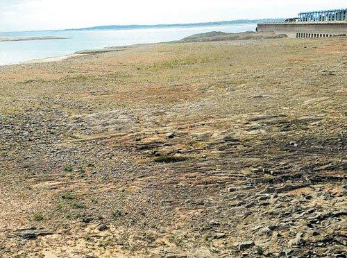 Depleting water level in KRS raises concern