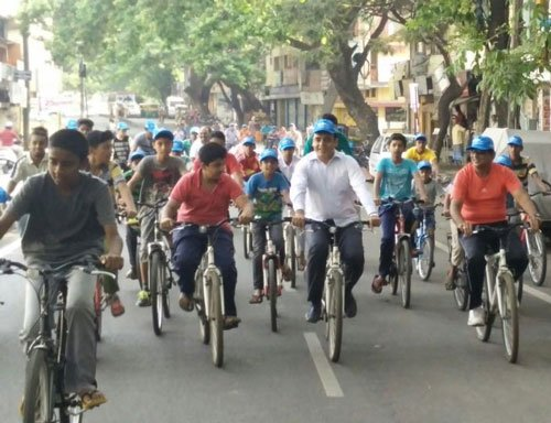 Get on the saddle, Cycle Day returns to Rajajinagar today