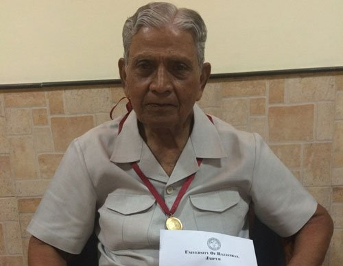 Former IAS officer gets gold medal after 47 years