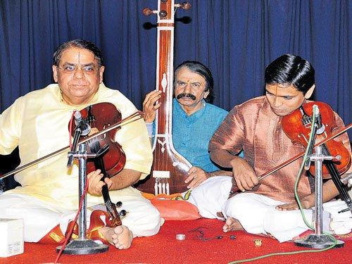 Classical violin duet