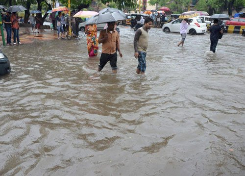 UP rivers in spate after heavy rain