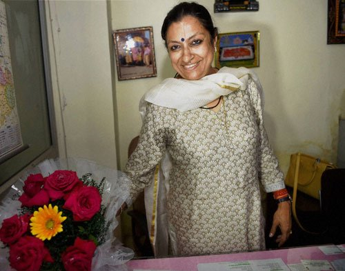 Political storm over Kumari's appointment