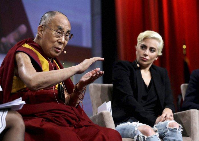 China bans Lady Gaga after Dalai Lama meeting?