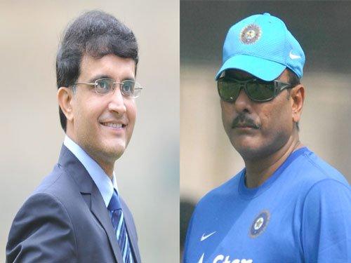 Ganguly should respect his job: Shastri