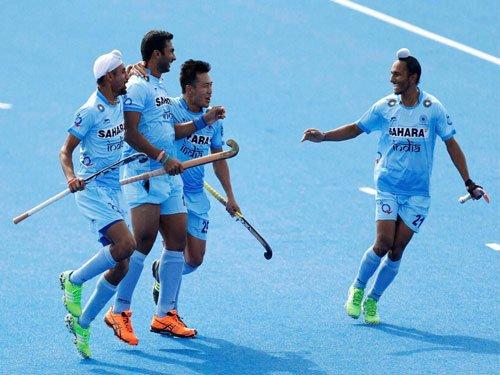 India rally to beat Ireland in 6-nation hockey