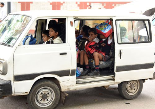 Kids' school journey in city remains as perilous as ever