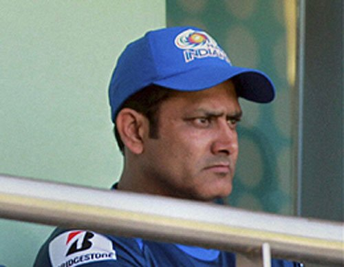 Captain will be in charge of the team: Kumble
