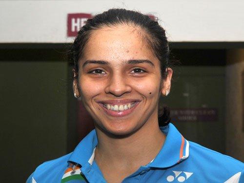 Saina moves up to fifth, Jwala-Ashwini slip four places
